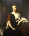 ca. 1694-1700 Hon. Rachel Russell (1674:1725), 2nd Duchess of Devonshire, daughter of William, Lord Russell on 21 June 1688 by Michael Dahl (Chatsworth House - Bakewell, North Derbyshire, UK) From interest.com:lambdapi57:1700-1750: trimmed