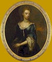 ca. 1695 Young Lady (Honorable Catherine Alington ?) with a Parrot by circle of Kneller (auctioned)