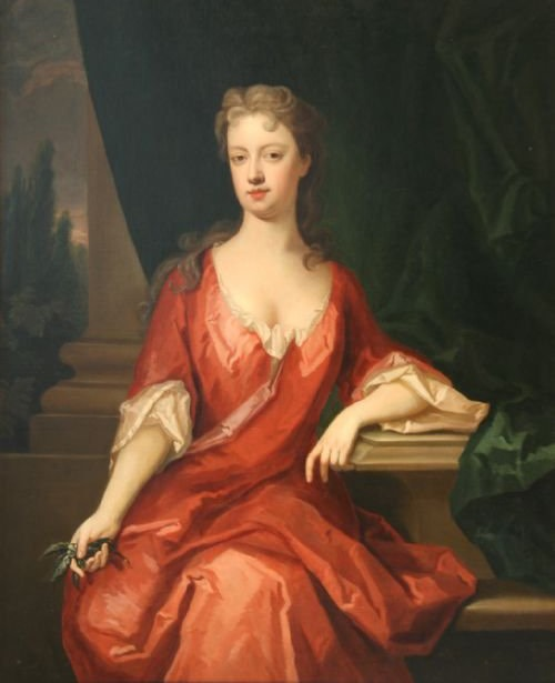 ca. 1710 Lady thought to be Elizabeth Seymour, Duchess of Somerset by circle of Michael Dahl (sold by Roy Precious)