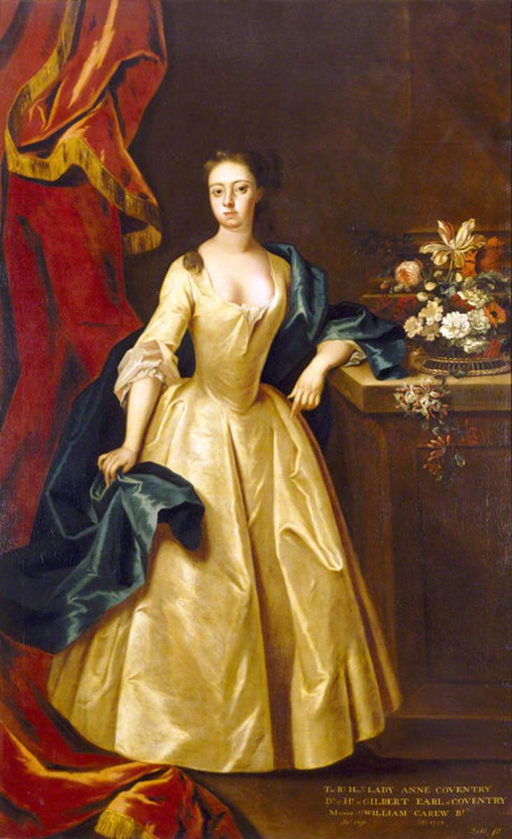 ca  1715 Lady Anne Coventry, Lady Carew in the manner of