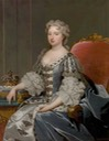 ca. 1730 Queen Caroline of Ansbach in the manner of Michael Dahl (Warwick Shire Hall - Warwick, Warwickshire, UK) Wm