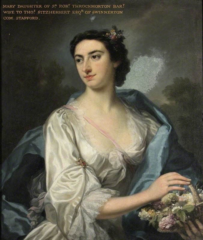 Mary Teresa Throckmorton, Mrs Thomas Fitzherbert