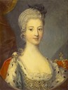 ca. 1772 Princess Louisa of Stolberg (1753 - 1824) Wife of Prince Charles Edward Stuart by ? (National Galleries of Scotland - Edinburgh UK)