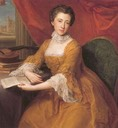 ca. 1775(?) Lady Georgiana Poyntz, later Countess Margaret Georgiana Spencer by Thomas Gainsborough