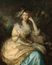 ca. 1780 Frances Susanna, Lady de Dunstanville by Thomas Gainsborough (National Gallery of Art - Washington, DC, USA) From books0977.tumblr.com/page/7 posted 7 September 2018