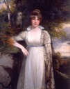 ca. 1800 Hon. Eleanor Hobart, née Eden, Countess of Buckinghamshire by John Hopner (auctioned by Christie's)