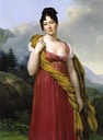 ca. 1808-1810 Laetitia Boyer, Marquise de Lagrange by Anne Louis Girodet de Roussy-Trioson (private collection) From the-athenaeum.org:art:full.php?ID=123572#