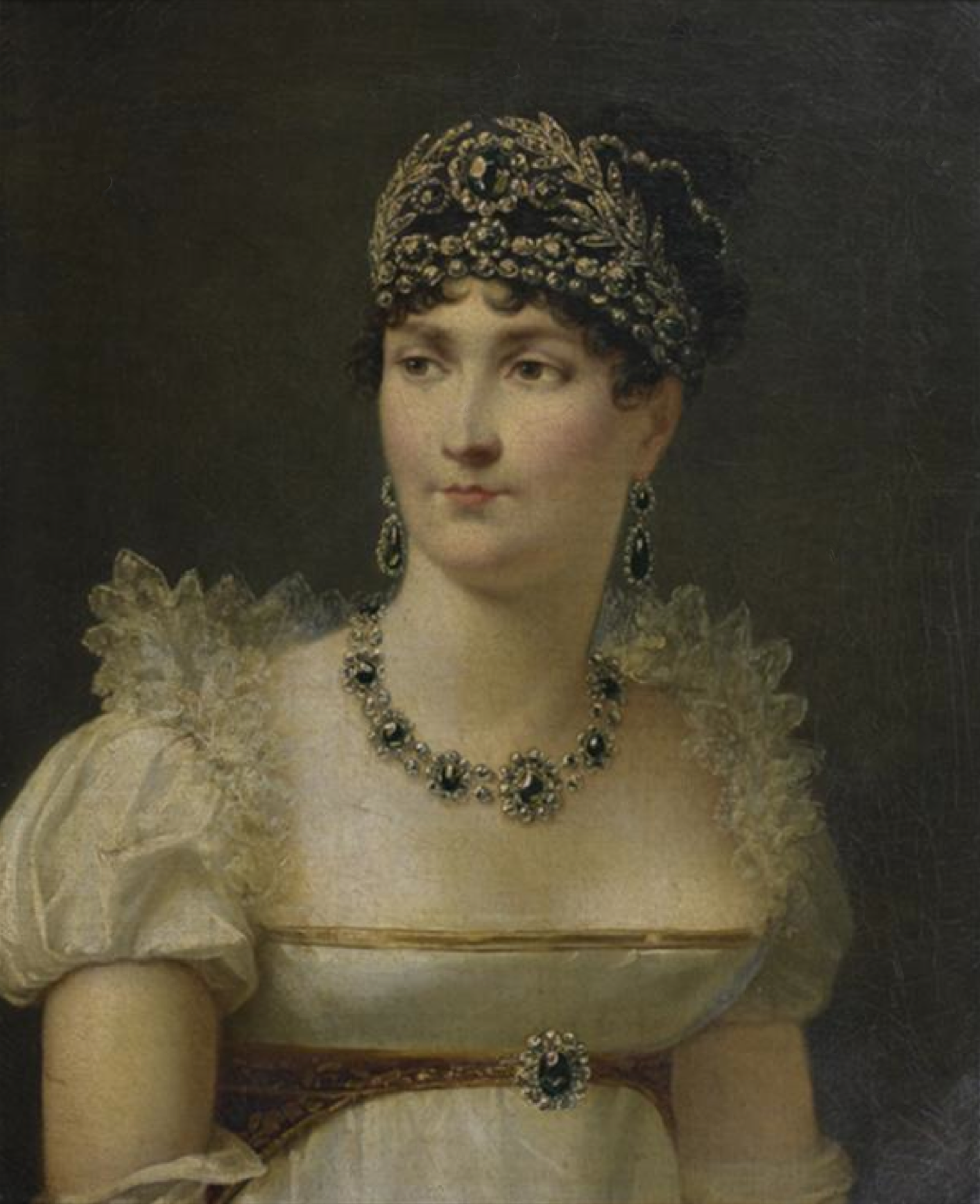 Ca 1810 Empress Jos 233 Phine By Jean Baptiste Regnault