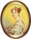 ca. 1812 Daria Lieven by ? after Sir Thomas Lawrence (State Tretyakov Gallery - Moskva Russia)