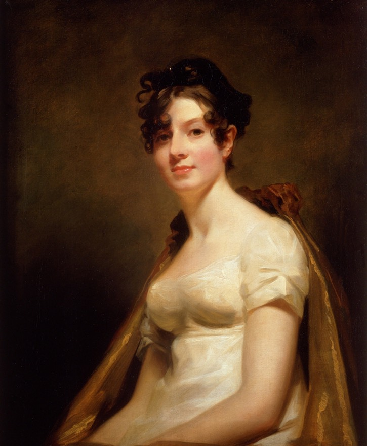 ca. 1812 Elizabeth Campbell, Marchesa di Spineto by Sir Henry Raeburn (location ?) From historicalportraits.com:Gallery.asp?Page=Item&ItemID=227&Desc=Elizabeth-Campbell-%7C-Sir-Henry-Raeburn-PRSA