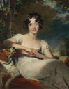 ca. 1824-1825 Lady Maria Conyngham by Sir Thomas Lawrence (Metropolitan Museum)