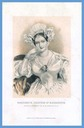 ca. 1834 Marguerite, Countess of Blessington print after A. E. Chalon color