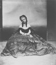 ca. 1863 Countess of Castiglione photo portrait probably by Pierre Louis Pierson (Metropolitan Museum of Art - New York City, New York, USA)