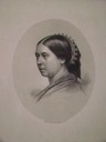 ca. 1861 Queen Victoria after Mayall from Steve Conrad archive