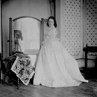 ca. 1862-1863 Lady Clementina Maude, daughter, (Victoria and Albert Museum - London, UK) removed four spots from dress detint X2