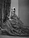 ca. 1863 Hat and paletot on Countess Castiglione From mashable.com:2016:05:03:virginia-oldoini:?utm cid=mash-com-fb-retronaut-link#FAcs9.komkq0 detint