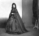 ca. 1865 Hooded long cape worn by Countess Castiglione From mashable.com/2016/05/03/virginia-oldoini/?utm_cid=mash-com-fb-retronaut-link#FAcs9.komkq0 detint