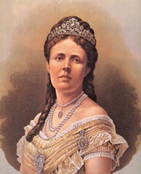 ca. 1872 Sophia, Queen of Sweden and Norway Wm