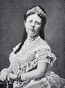 ca. 1873 Queen Sofia of Sweden-Norway