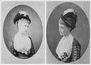 ca. 1875 Portraits of Hélène Standish by Georges Penabert (Royal Collection) Wm despot and removed large diagonal linear flaw