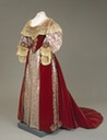 ca. 1880 Dress worn by Empress Marie Feodorovna (location unknown to gogm)