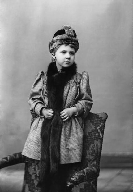 ca. 1892 Princess Victoria Eugenie of Battenberg, later Queen Consort of Spain From royalwatcher.tumblr.com:post:45026861631:princess-victoria-eugenie-of-battenberg-later X 1.5