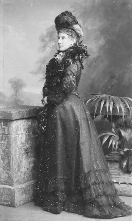 Ca 1895 Lady Meath 1847 1918 Nee Lady Mary Jane Maitland Wearing