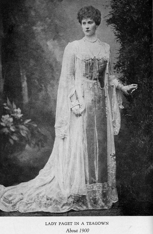 ca 1900 lady paget in a worth tea gown grand ladies gogm