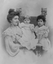 ca. 1903 (estimate based on age of youngest child, Mafalda) Elena of Montenegro (Library of Congress Bain Collection - Washington, DC, USA) Wm deflaw, despot, deprint.