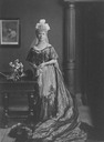 ca. 1905 Lady Charlotte Russell (in St James court presentation dress), London by H. Walter Barnett (Art Gallery NSW - Sydney, New South Wales Australia)