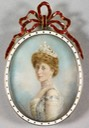 ca. 1905 Maud by William & Daniel Downey (Royal Collection) entire cameo From Pinterest search