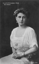 ca. 1906 Princess Alice of Greece, née Princess of Battenberg