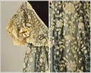 ca. 1907 Details of dress of Consuelo Vanderbilt attributed to Callot Soeurs (auctioned by Whitaker Auctions) From whitakerauction.smugmug.com