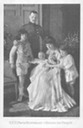 ca. 1909 (estimate based on age of baby) Crown Prince Rupprecht von Bayern with family
