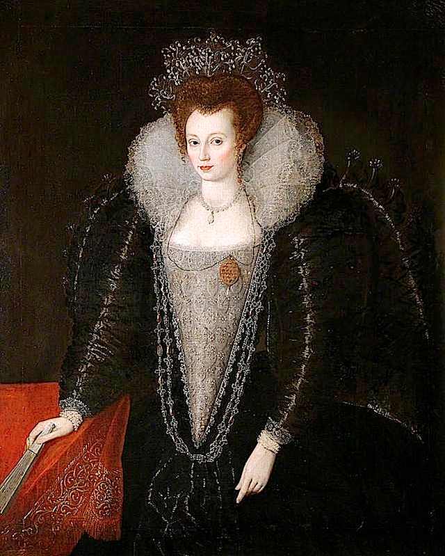 ca. 1595-1600 Catherine Killigrew by ? (Colchester and Ipswich Museums Service) X2 lightened despotted