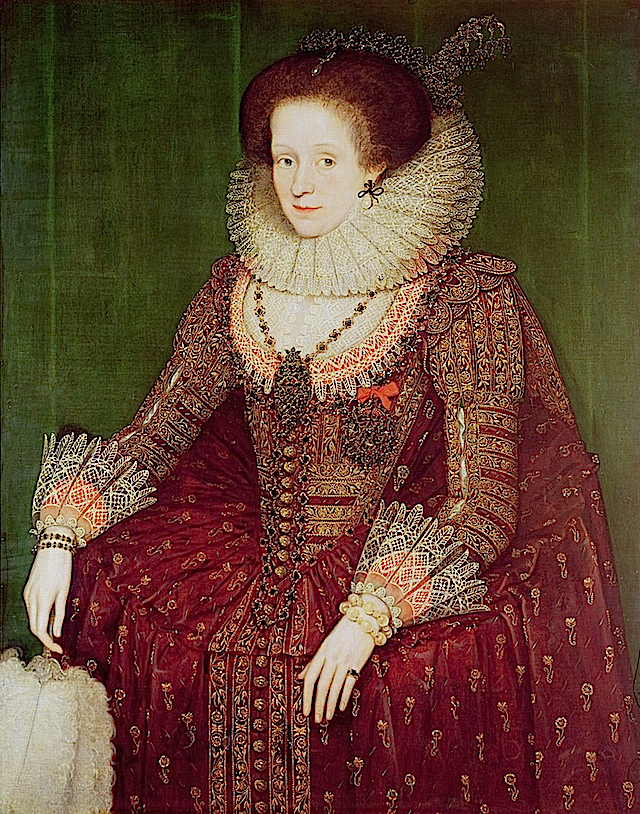 ca. 1615 Margaret Hay, Countess of Dunfermline by Marcus Gheeraerts (private collection) From www.artfinder.com:play:artist:marcus-gheeraerts-the-younger:13:#13