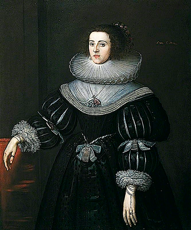 ca. 1627-1628 Ann Cotton by ? (Colchester and Ipswich Museums Service, specific location unknown to gogm)