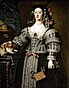 ca. 1638 Maria Farnese by Gerolamo Forabosco (location unknown to gogm)