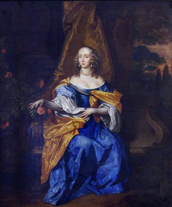 ca. 1642 Lady Elizabeth Cavendish by ? (Egerton collection)