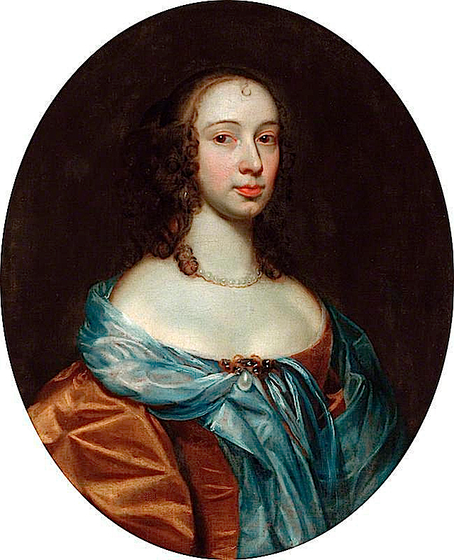 ca. 1675 Lady Hewley by circle of Peter Lely (The Mansion House and Guildhall - York UK) despotted