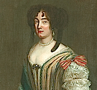 ca. 1680 Eléonore Desmier d'Olbreuse by ? (Das Residenzmuseum im Celler Schloss - Celle Germany) From www.celle.de:index.phtml?La=1&ffsn=false&object=tx|342.17269.1&sub=0