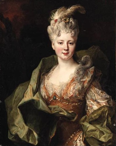 ca. 1715 (estimated) Jeanne Gagne de Perrigny by Nicolas de Largilière (location unknown to gogm)