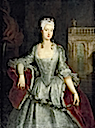 ca. 1738-1740 Wilhelmine von Bayreuth by Antoine Pesne (location unknown to gogm)