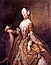 ca. 1744 Luise Ulrike of Prussia, Queen of Sweden by Antoine Pesne (location unknown to gogm)