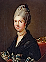 ca. 1775 Queen Charlotte after Johann Zoffany (Royal Collection)