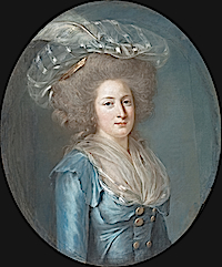 ca. 1787 Elizabeth Philippine Marie Helene by Adélaïde Labille-Guiard (Metropolitan Museum of Art - New York City, New York USA)