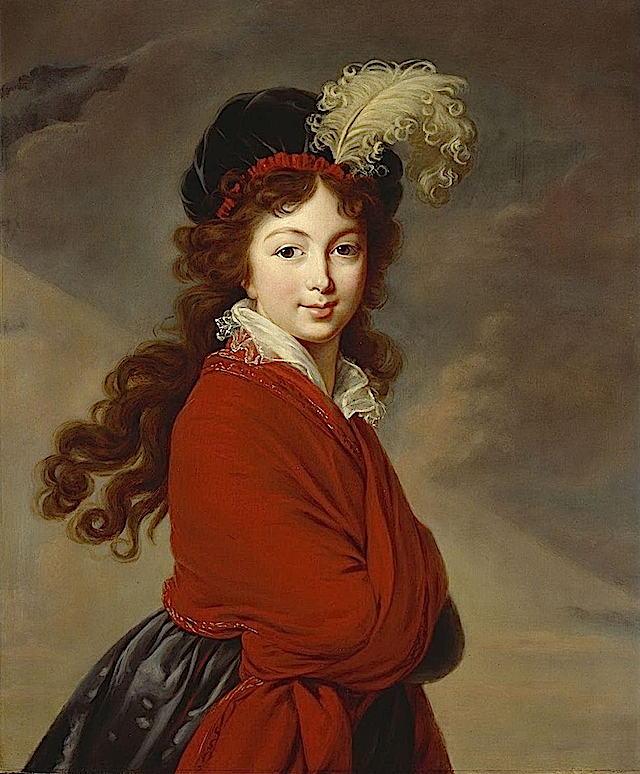 ca. 1795 Princess Juliane of Saxe-Coburg-Saalfeld by Élisabeth Louise Vigée-Lebrun (destroyed by aerial bombardment in World War 2) From ericab16's 1795-1816 Regency album on webshots