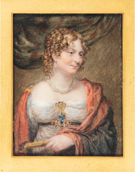 ca. 1815 Anne Law (née Towry), 1st Lady Ellenborough by John Linnell (Bonham's 17965 - 169) bottom