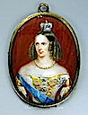 Miniature of Empress Alexandra Feodorovna