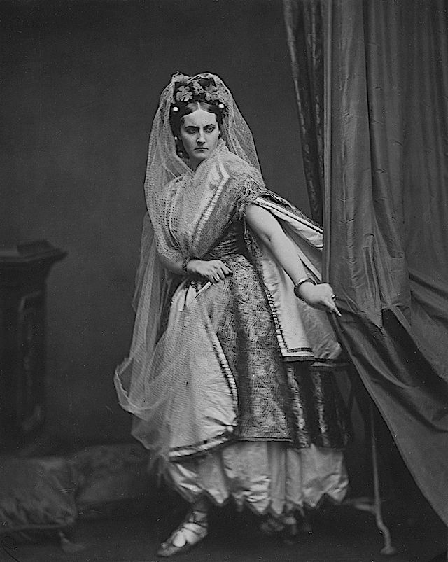 ca. 1865 Countess Virginia di Castiglione by Pierson Wm detint